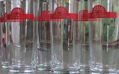 Bicchieri con logo