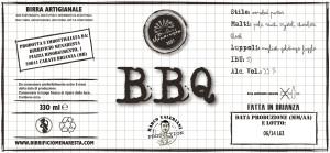 Etichetta BBQ