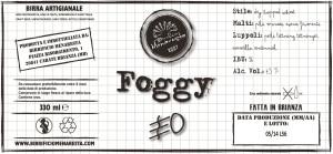 Etichetta FOGGY