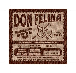 etichetta Don Felina Esecutivo