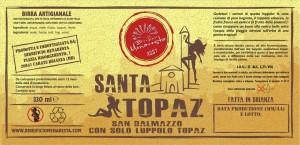 etichetta Santa Topaz